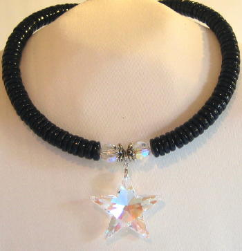 AB Crystal Star Necklace